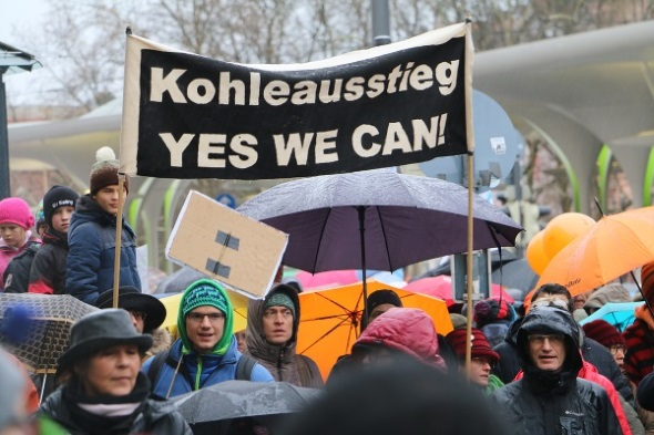 Münchner Climate March 2015 © Fossil Free München