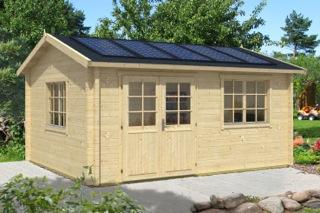Gartenhaus_Solar