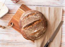 Dinkel Sauerteig Brot