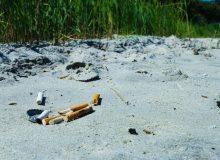 Zigaretten sind schlecht für die Natur