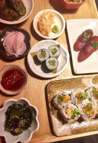 kansha veganes sushi münchen